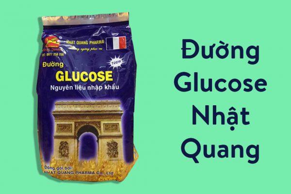 Hình ảnh gói Đường Glucose Nhật Quang