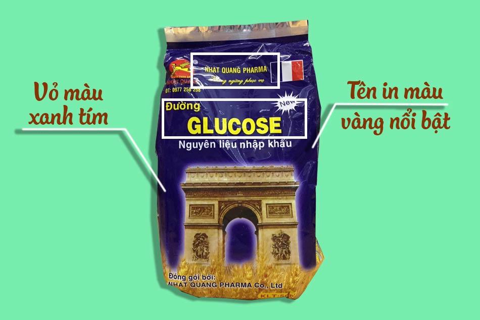Nhận biết Đường Glucose Nhật Quang thật