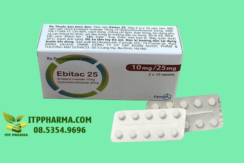 Hình ảnh thuốc Ebitac 25mg