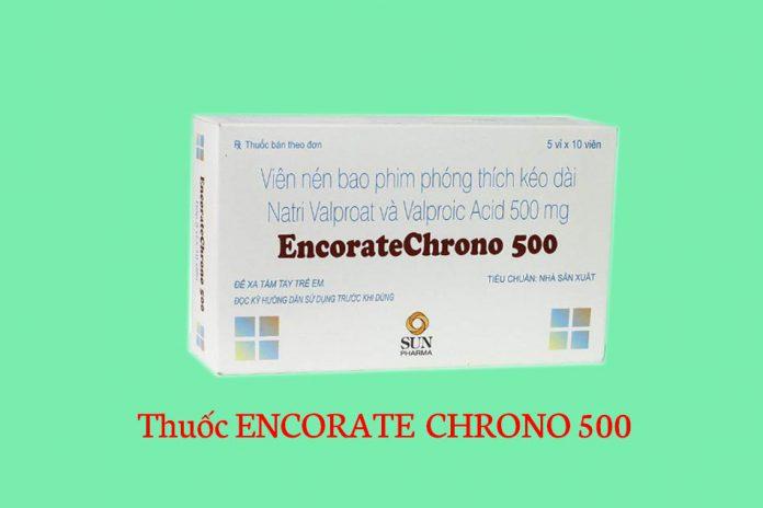 Hình ảnh hộp thuốc Encorate Chrono 500