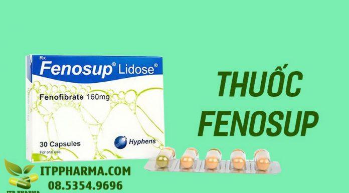 Hình ảnh thuốc Fenosup lidose Fenofibrat 160mg