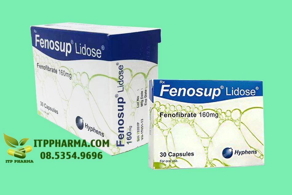 Mặt bên thuốc Fenosup