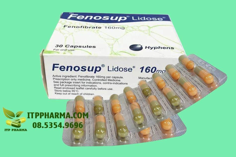 Đáy hộp và vỉ thuốc Fenosup