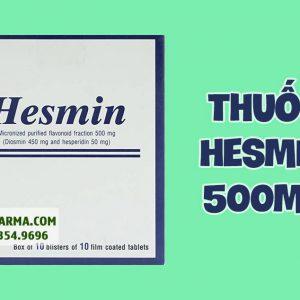 Hình ảnh thuốc Hesmin 500mg