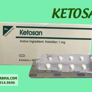 Hình ảnh thuốc Ketosan