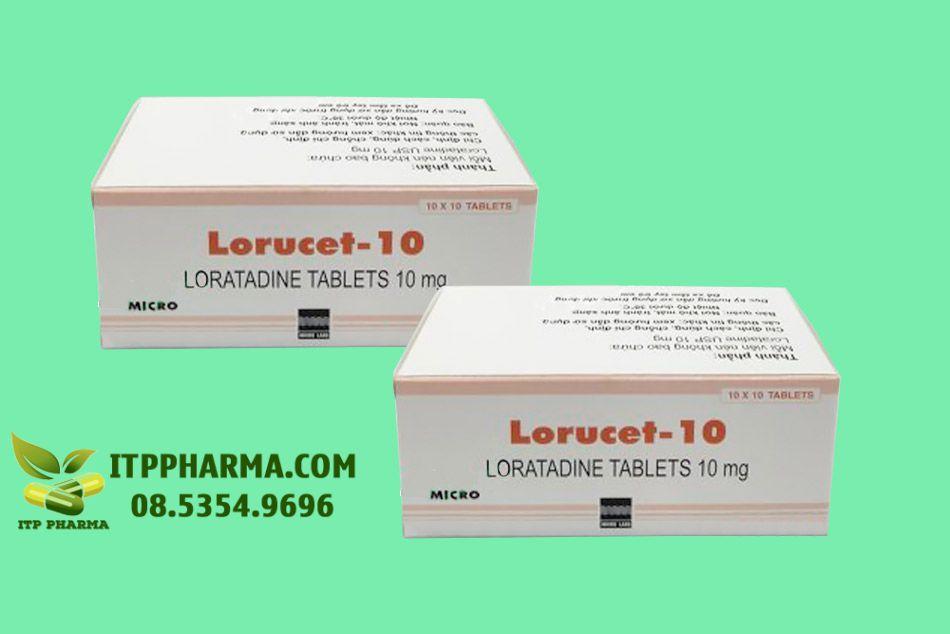 Thuốc Lorucet 10