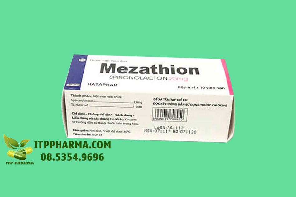 Hình ảnh hộp thuốc Mezathion