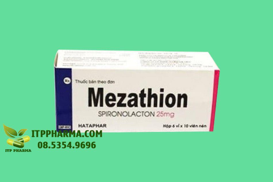 Mezathion bào chế dạng viên nén