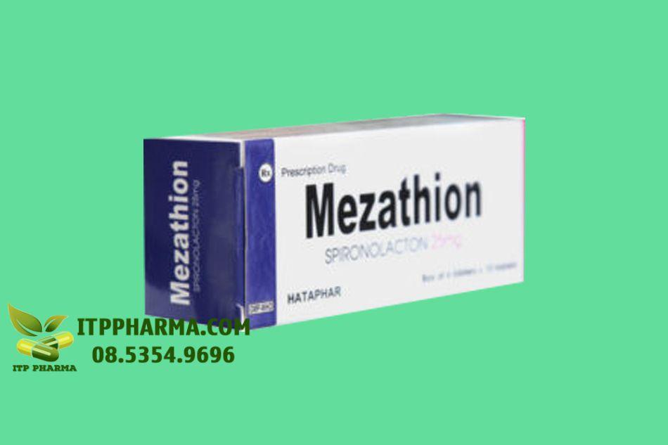 Mezathion sử dụng cho bệnh nhân cao huyết áp