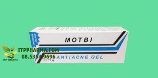 Gel trị mụn Motbi 70g