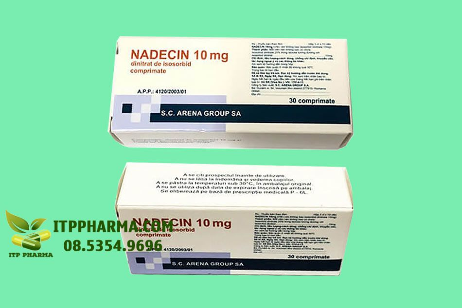 Thuốc Nadecin 10mg