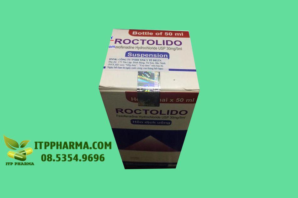 Thuốc Roctolido - điều trị dị ứng