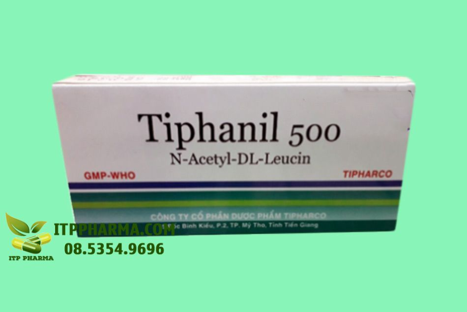 Hình ảnh mặt trước hộp thuốc Tiphanil