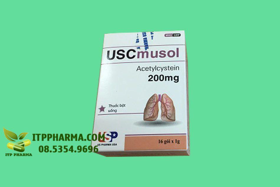 Hình ảnh hộp thuốc Uscmusol