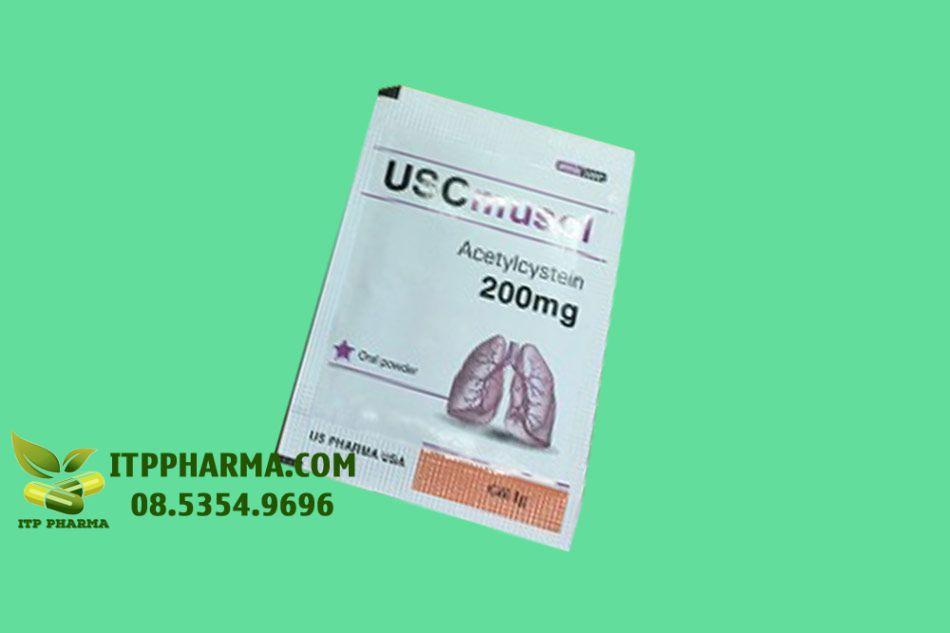 Hình ảnh gói thuốc Uscmusol