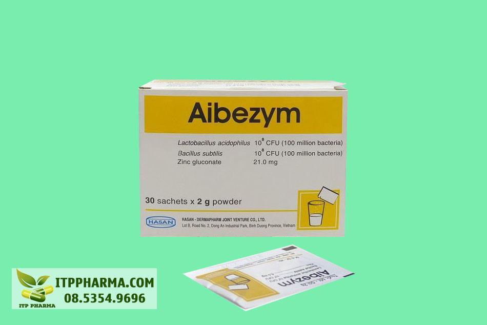 Thuốc Aibezym bổ sung lợi khuẩn cho cơ thể