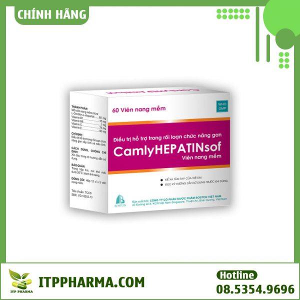 Hộp thuốc Camlyhepatinsof