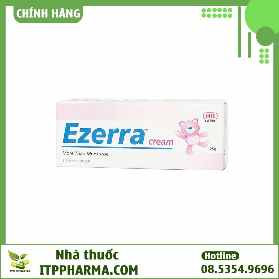 Hình ảnh hộp thuốc Ezerra Cream