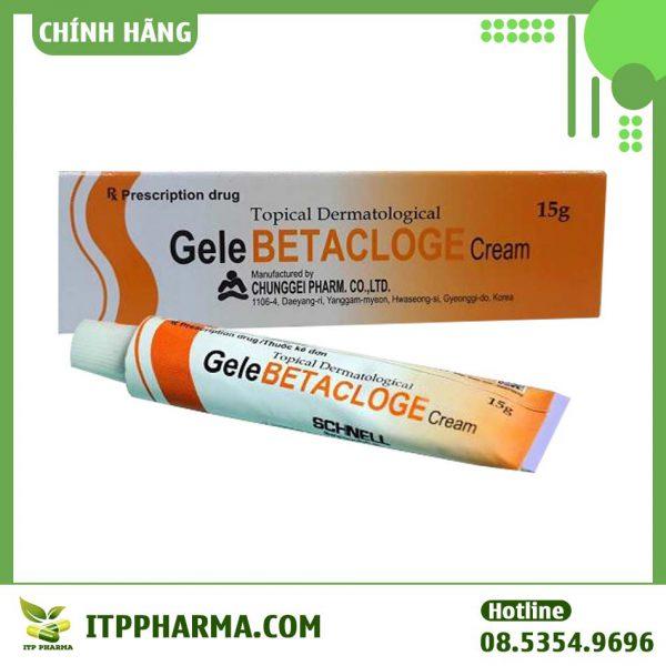 Hình ảnh thuốc Gelebetacloge