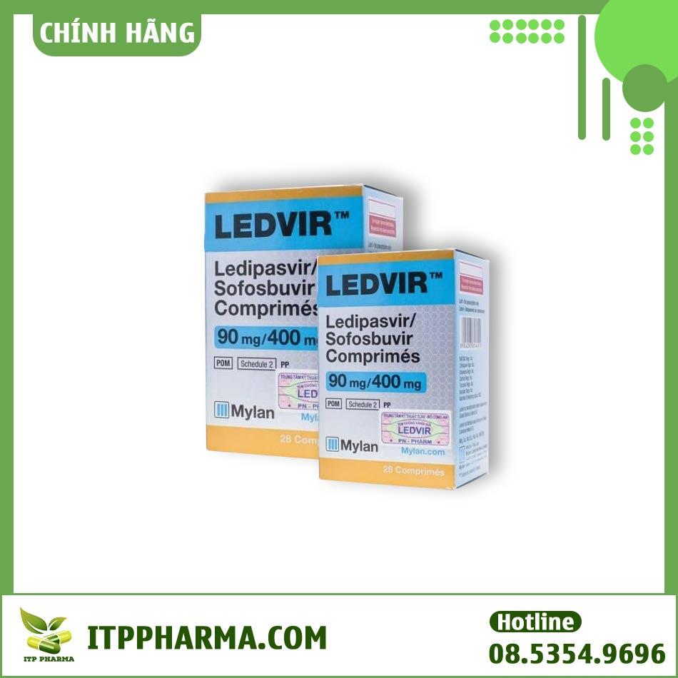 Có thể tìm mua Ledvir tại hầu hết các nhà thuốc trên toàn quốc