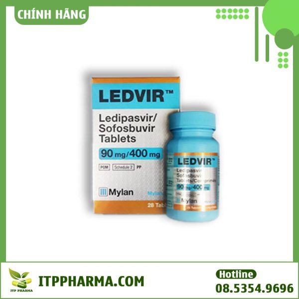 Thuốc Ledvir 90mg/ 400mg