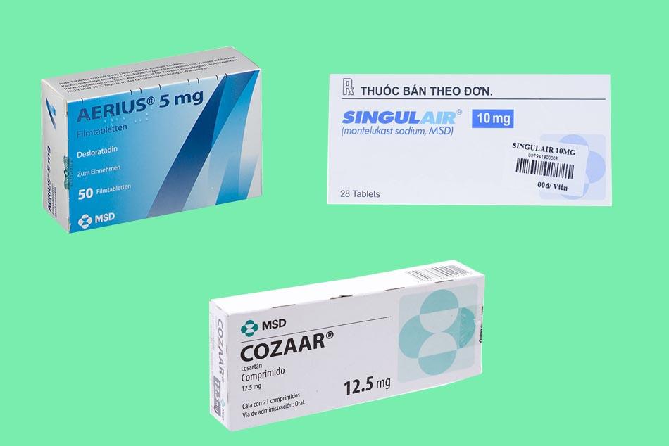Hình ảnh một số sản phẩm của công ty MSD