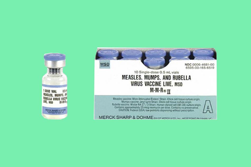 Vaccine sởi rubella của MSD