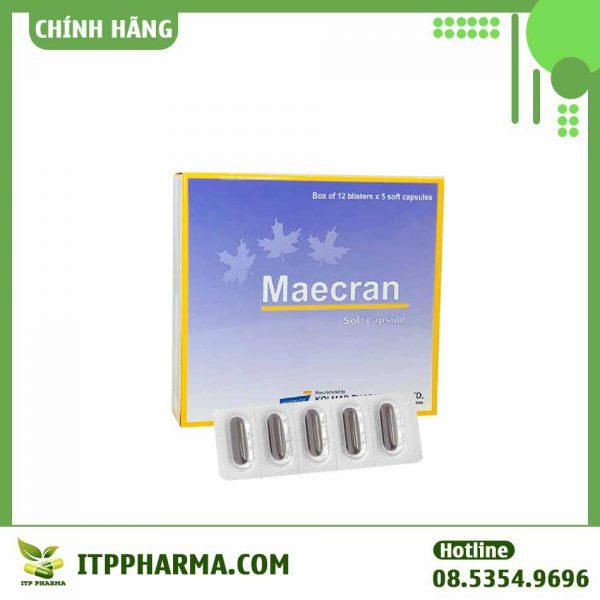 Thuốc Maecran Giúp tăng cường sinh lực, chống oxy hóa và hạn chế quá trình lão hóa