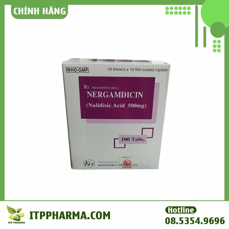 Chống chỉ định của thuốc Nergamdicin