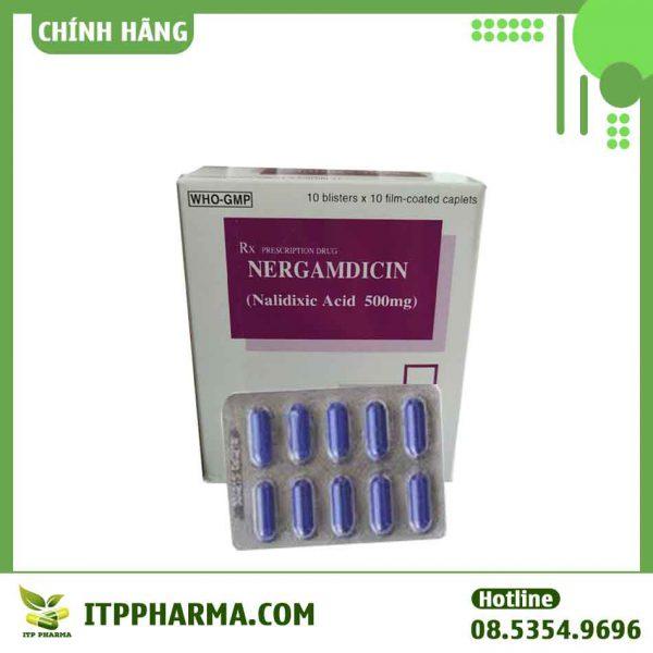 Nergamdicin - Chống nhiễm khuẩn, kháng nấm, kháng virus