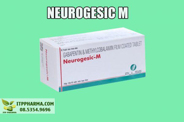 Hình ảnh hộp thuốc Neurogesic M