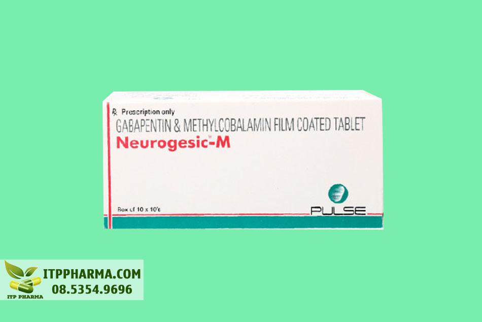 Hình ảnh mặt ngoài hộp thuốc Neurogesic M