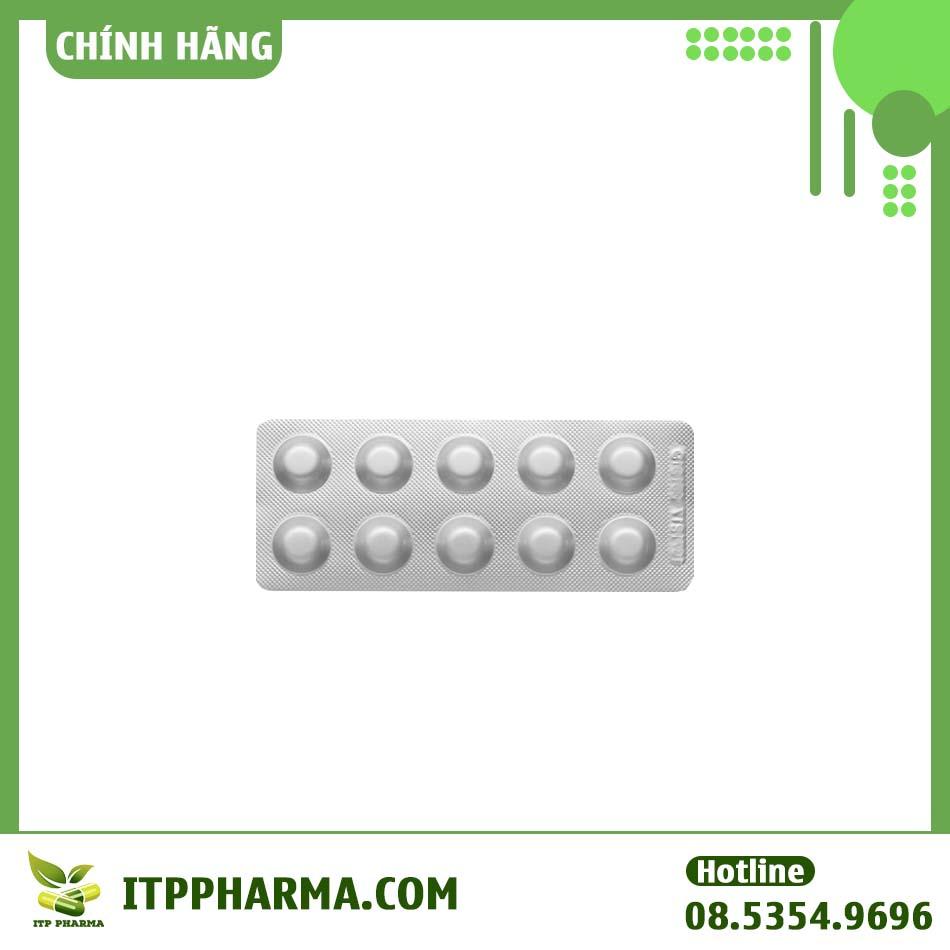 Hình ảnh vỉ thuốc Statripsine