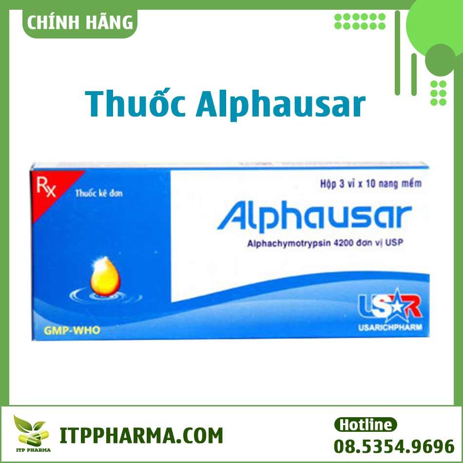 Thuốc Alphausar là gì?