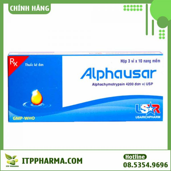 Mua thuốc Alphausar ở đâu?