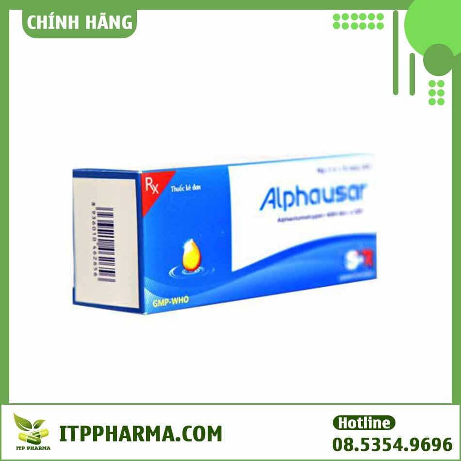 Alphausar - Giảm đau, kháng viêm