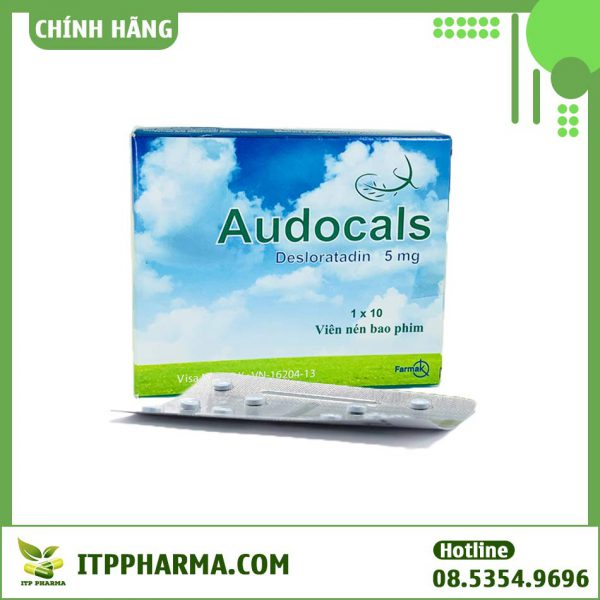 Thuốc dị ứng Audocals 5mg