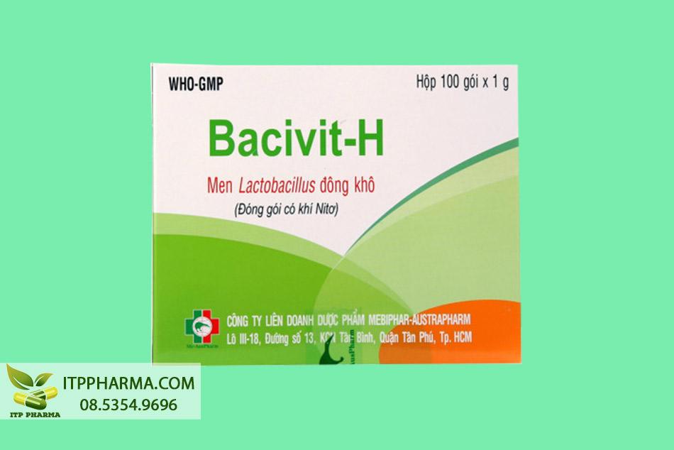 Hộp Bacivit-H 100 gói