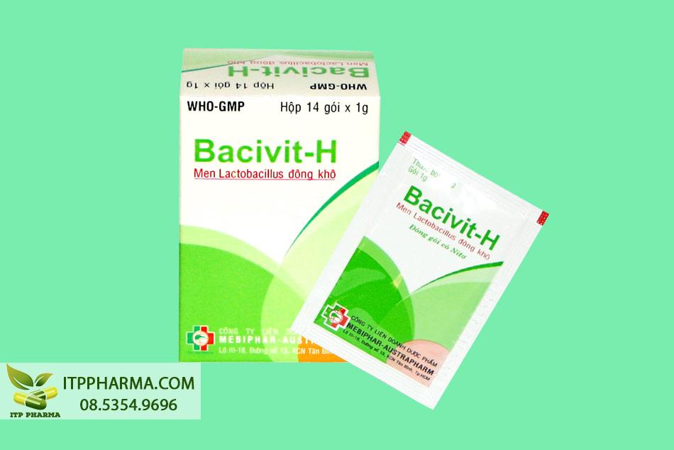 Hộp Bacivit-H 14 gói