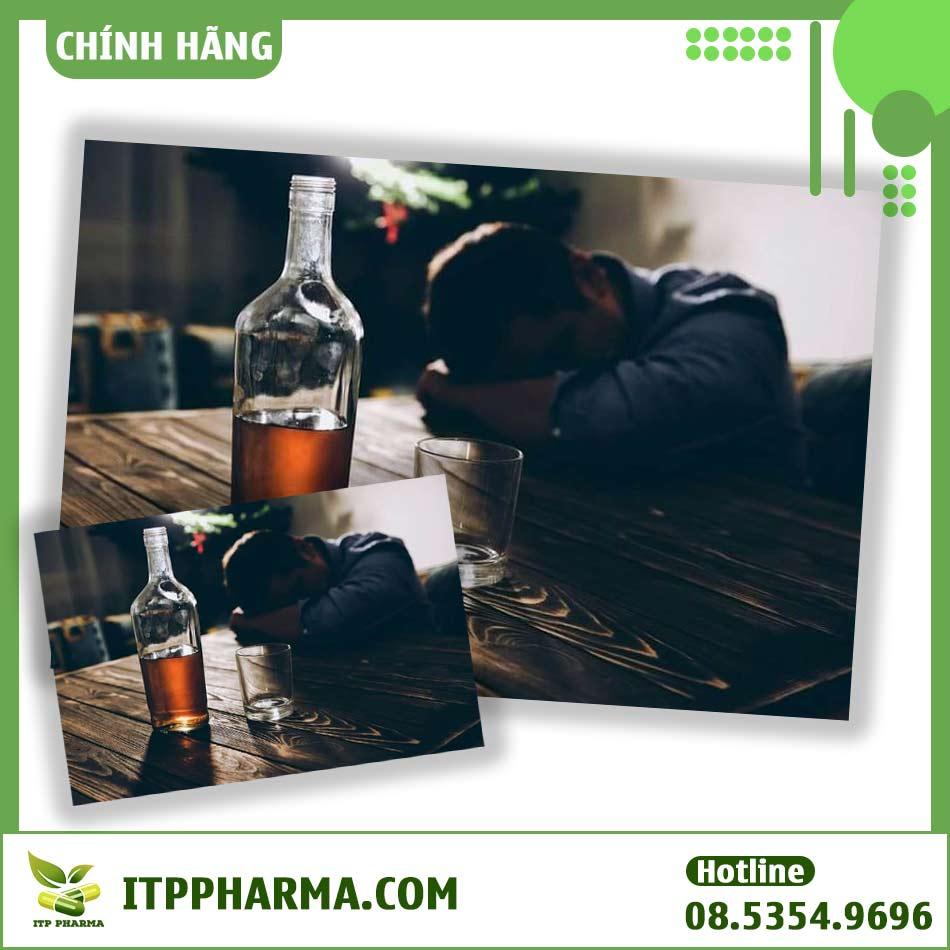 Chronol điều trị nghiện rượu mạn tính