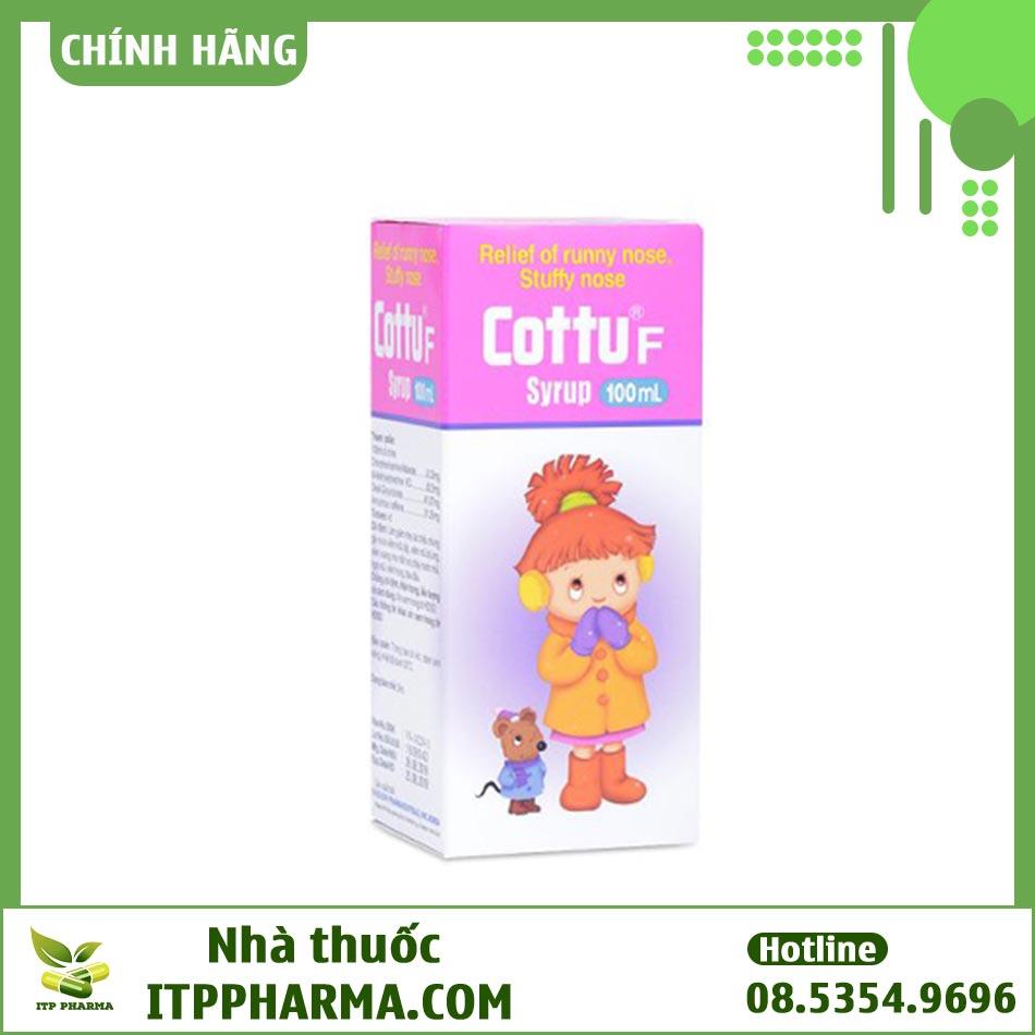 Hộp thuốc Cottu F Syrup