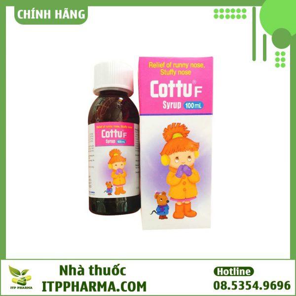Lọ thuốc Cottu F Syrup