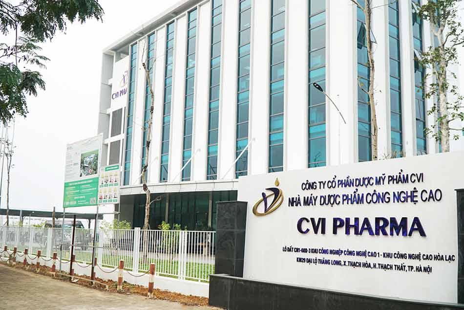 Công ty Cổ phần Dược Mỹ phẩm CVI