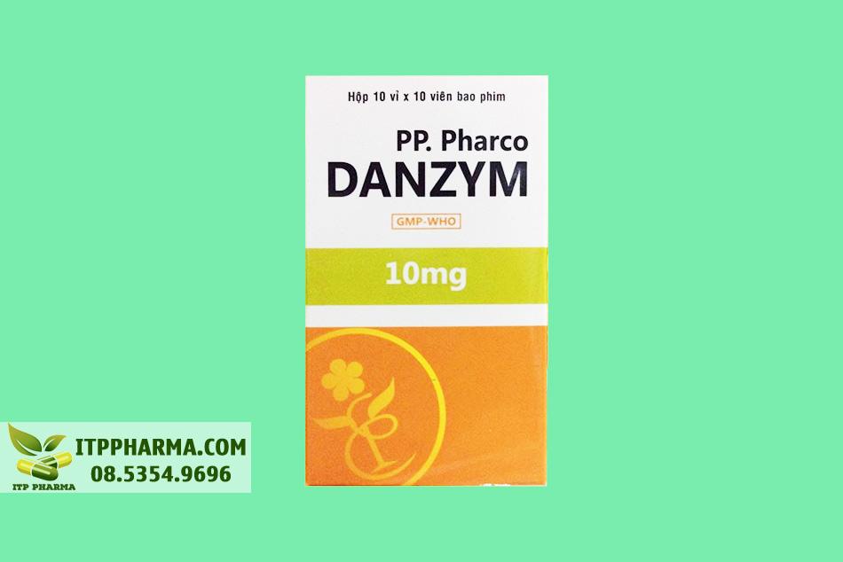 Hộp thuốc Danzym 10mg