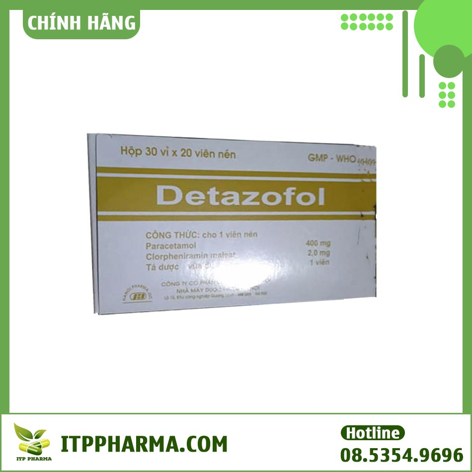 Hộp thuốc Detazofol