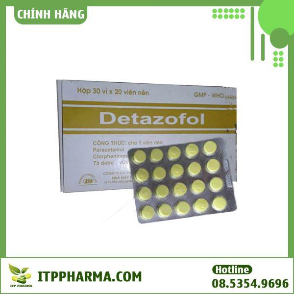 Hình ảnh thuốc Detazofol