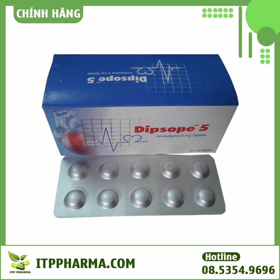 Công dụng của thuốc Dipsope