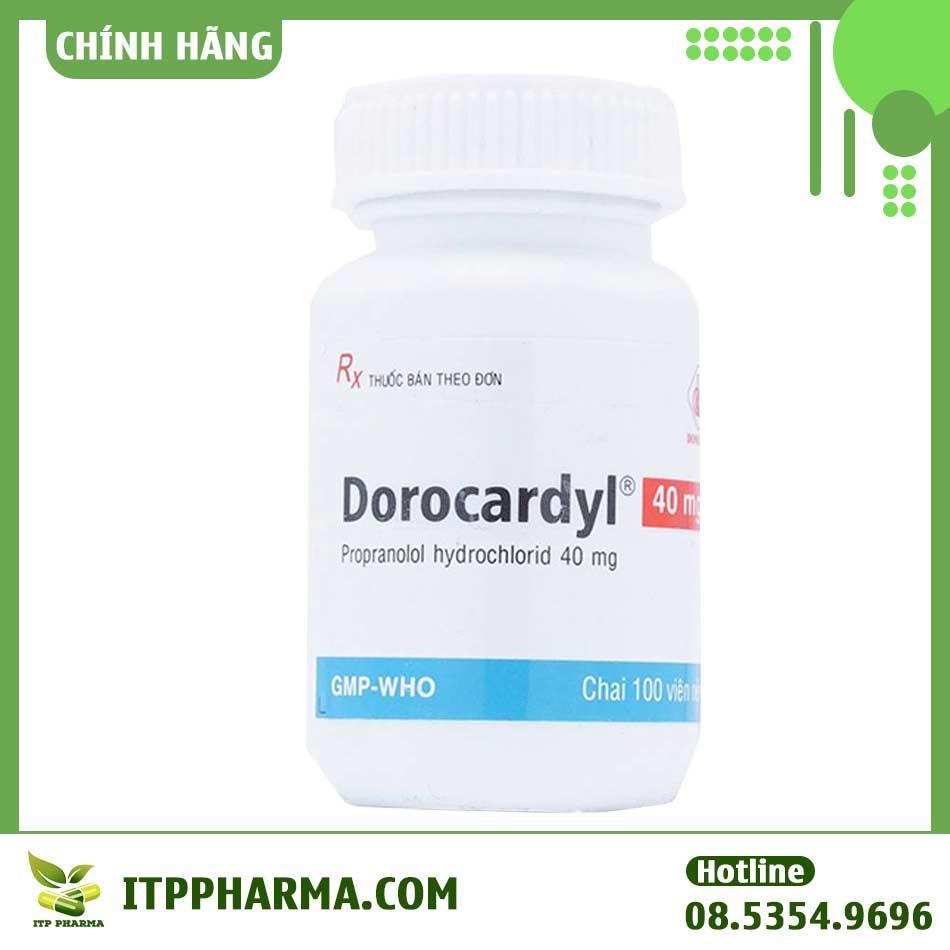 Thuốc Dorocardyl 40mg