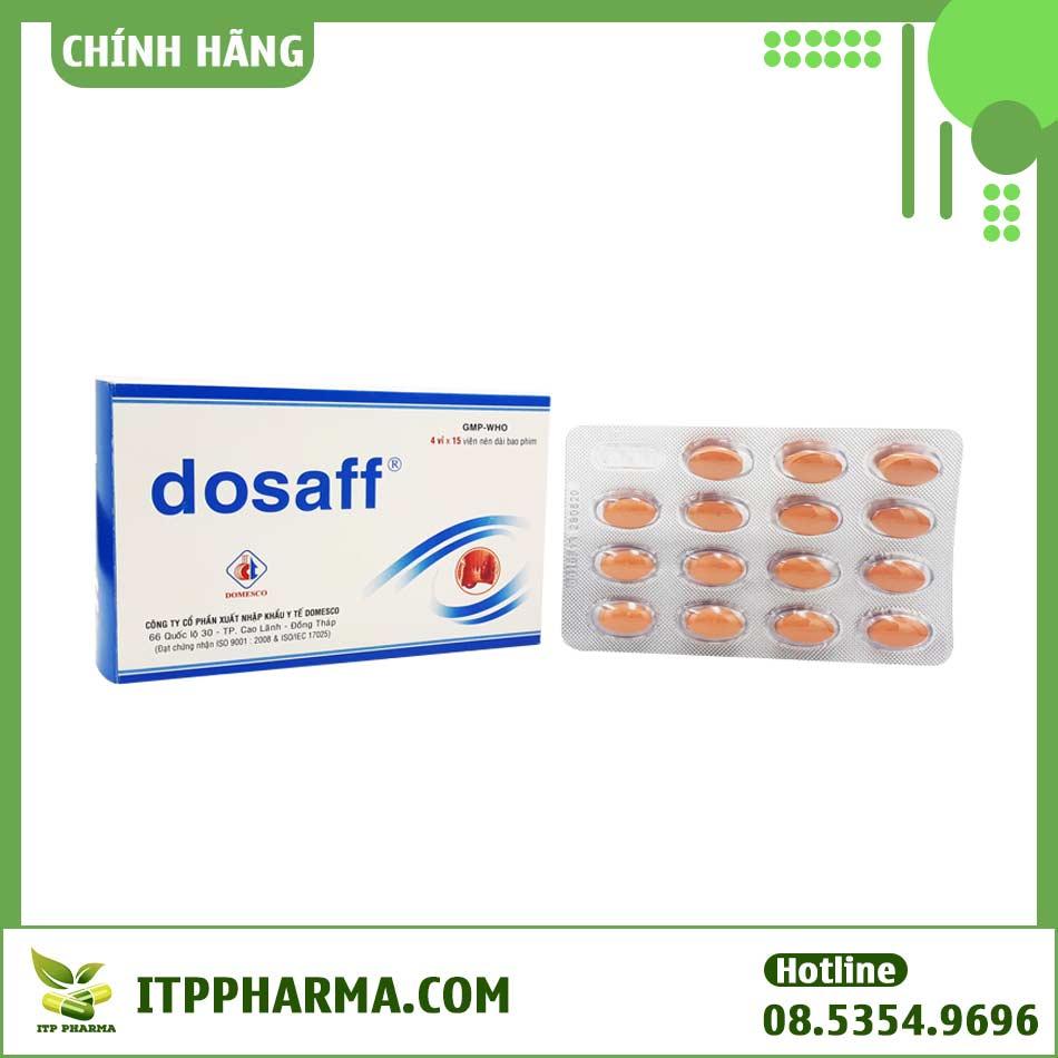 Hình ảnh vỉ thuốc Dosaff