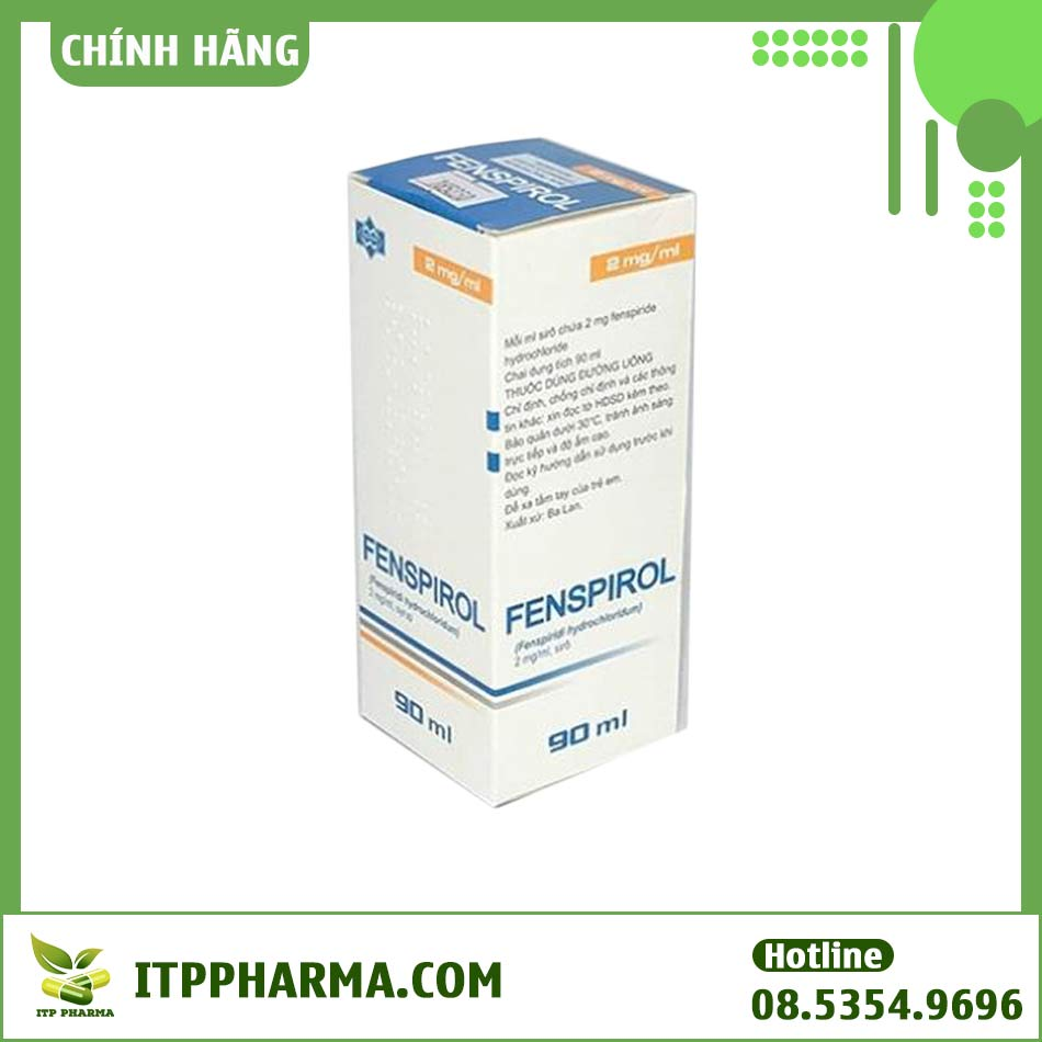 Hộp thuốc điều trị ho Fenspirol